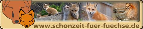 Initiative Schonzeit für Füchse